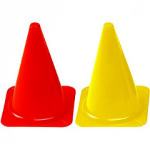 Megaform Plastic Cones - Red