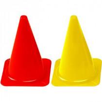 Megaform Plastic Cones - Yellow