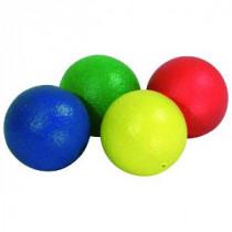 Skin-Coated Foam Balls - Orange