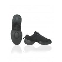Papillon Dance sneaker canvas split sole low top Women - Black - 4