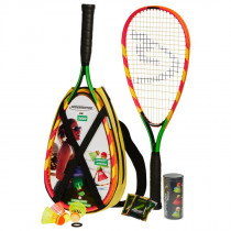 Speedminton Set S600 - Red/Green