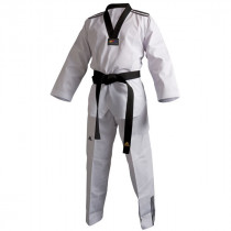 Adidas Taekwondo Suit Club /// Black Lapel