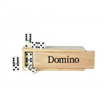 Longfield Dominoes Double 6 Large Wooden Box