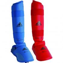 Adidas WKF Shin Instep Protector - Blue
