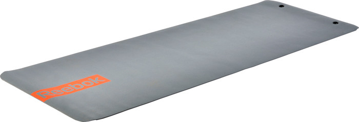 Reebok Yoga Mat With Eyelets 173 X 61 X 0 4 Cm Grey Online Justathlete Com